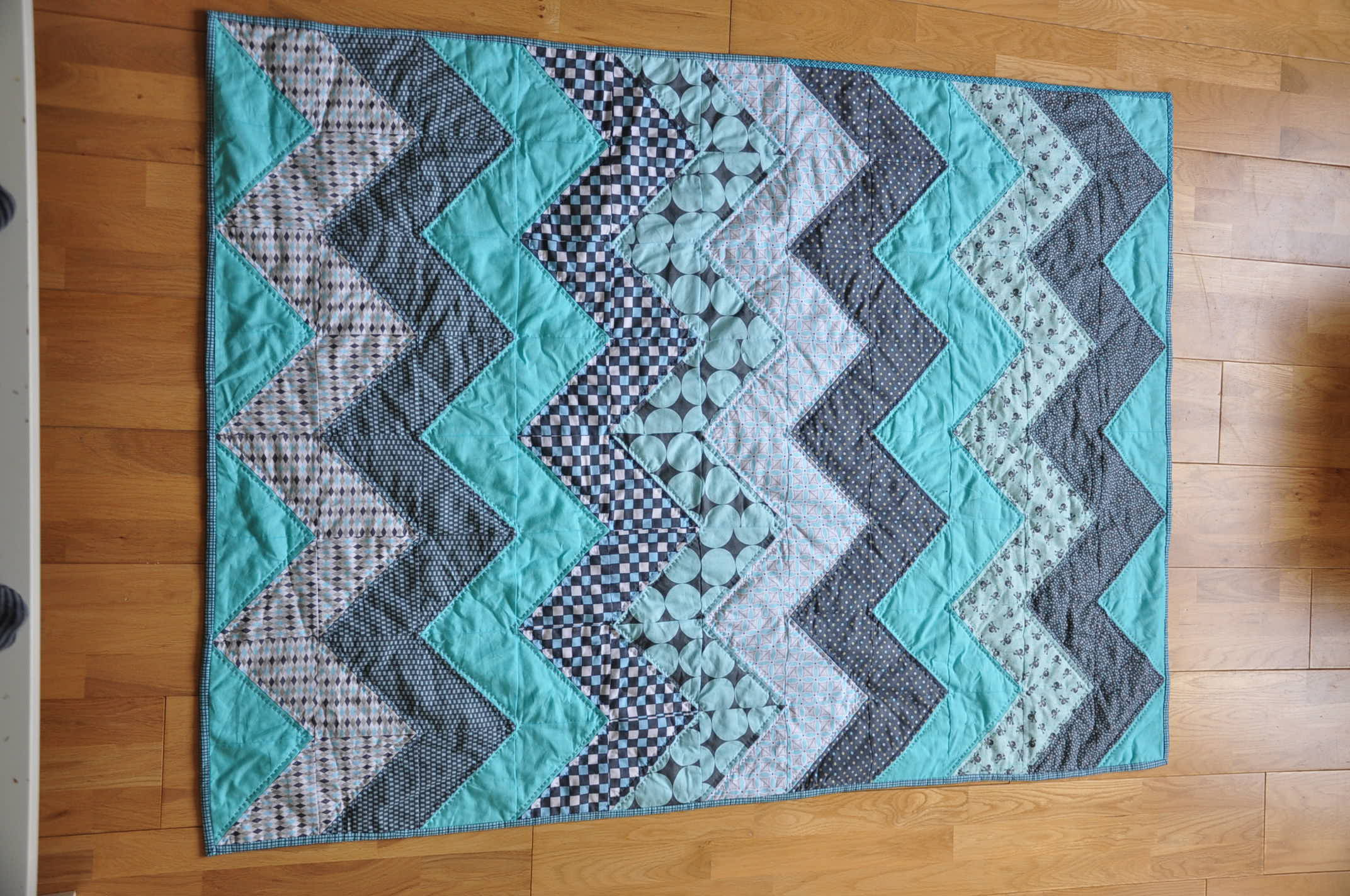 chevron quilt tutorial | Quiltylicious : chevron quilt patterns - Adamdwight.com