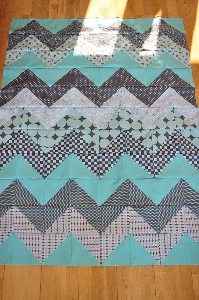 Quilting Designs For Chevron Quilts : chevron quilt tutorial Quiltylicious