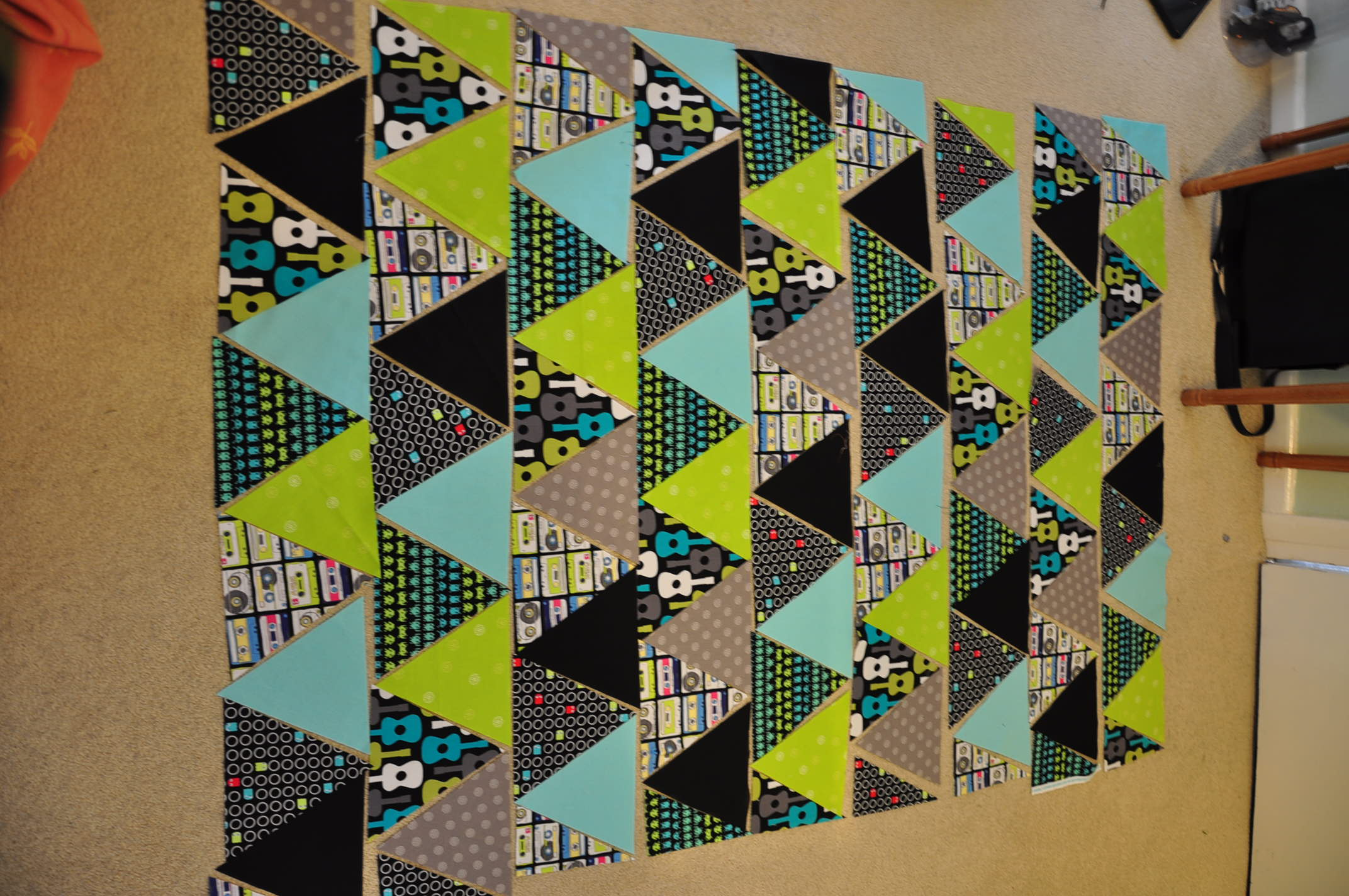 Triangle Quilt Tutorial Quiltylicious